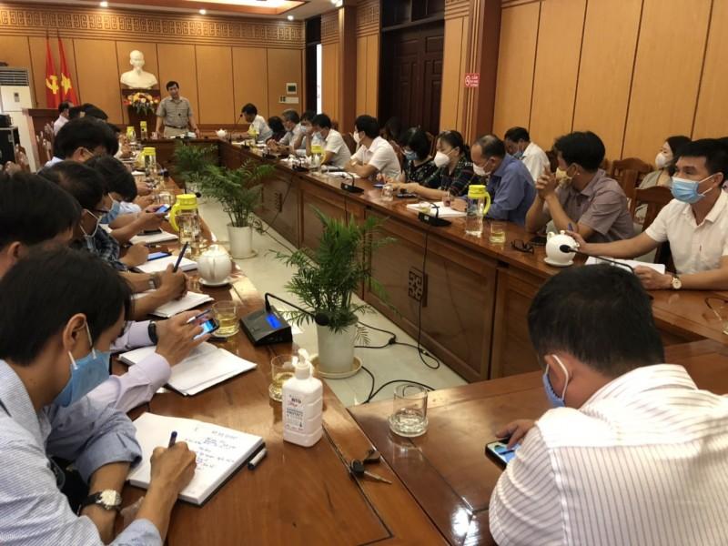 Hội An họp khẩn phòng chống dịch bệnh COVID-19