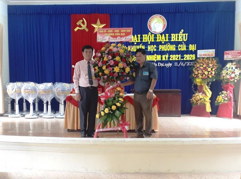 Đại hội đại biểu Hội khuyến học phường Cửa Đại lần thứ IV, nhiệm kỳ 2021 – 2026