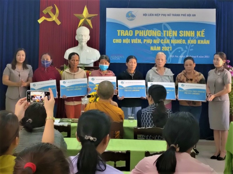 Hội LHPN Hội An sơ kết công tác 6 tháng