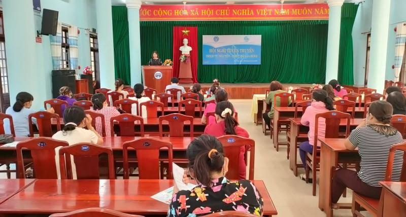 Hội An: Tuyên truyền chính sách BHXH, BHYT cho cán bộ hội phụ nữ